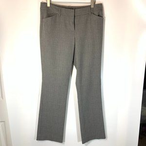 Express Editor Pants 4R Houndstooth Gray Black